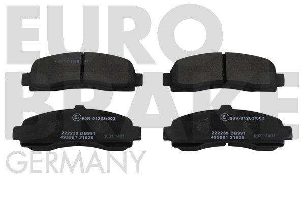 Replacement Car Parts for Nissan Micra Front brake pads