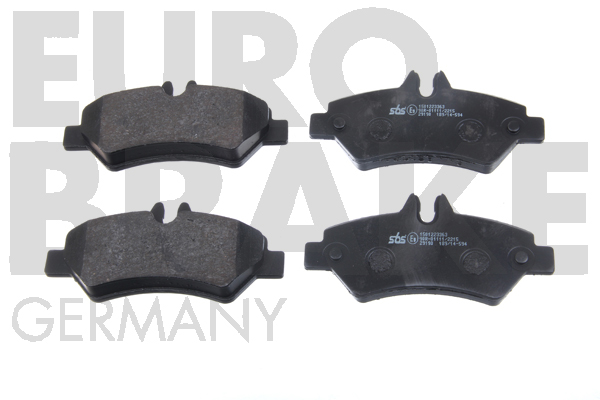 Replacement Car Parts for Mercedes Sprinter Rear brake pads