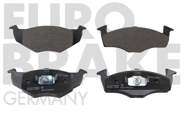 Replacement Car Parts for Volkswagen Fox Front brake pads