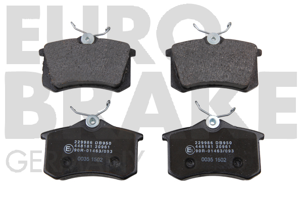 Replacement Car Parts for Audi Tt Rear brake pads