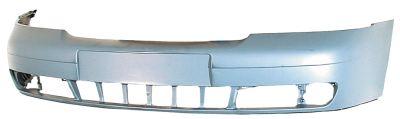 Front Bumper Primed Including Metal Reinforcer for AUDI A4