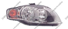 Headlight Right Hand Amber Indicator Oem Not Cabriolet for AUDI A4