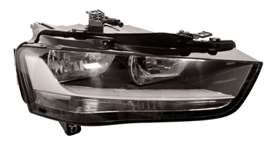 Headlight With Motor Right Hand for AUDI A4