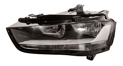 Headlight With Motor Left Hand for AUDI A4
