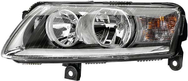 Headlight Right Hand OEM/OES for AUDI A6