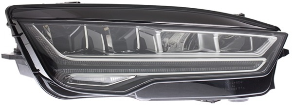 Headlight LED Type With Cornering Light Right Hand for AUDI A7