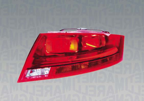 Rear Light Right Hand witH Red Frame Coupe + Roadster Models for AUDI TT