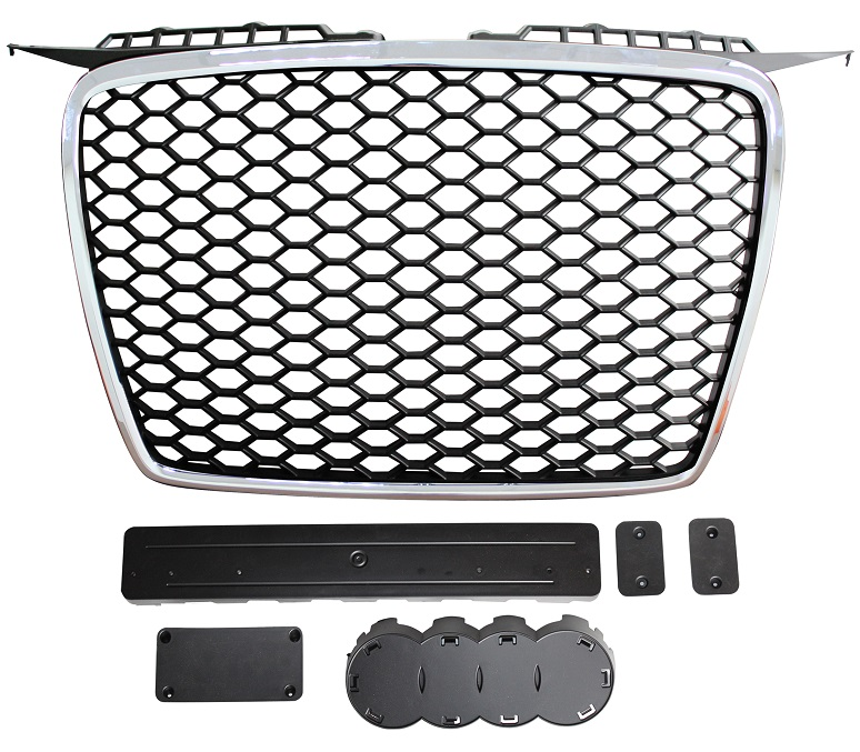 Front Grille RS Style Black With Chrome Surround 05>Only