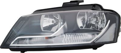 Headlight Electric W/motor Right Hand for AUDI A3