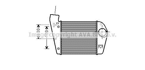 Intercooler 2.7 TDI Inc Allroad for AUDI A6