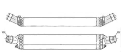 INTERCOOLER 3.0TDi AUTO +/- AC for AUDI Q5