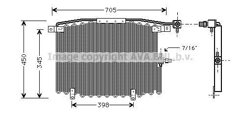 Replacement Car Parts for Audi 100 Condensor 2.0