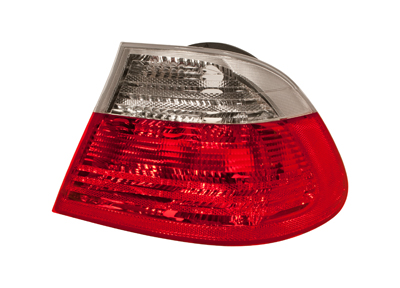 Rear Light Outer Clear / Red Right Hand for BMW 3 SERIES