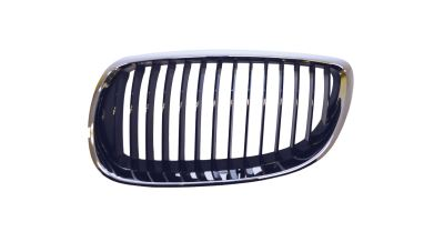 Grille Black / Chrome Left Hand Independently Certified for BMW 3 SERIES