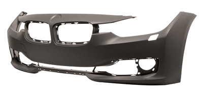 Replacement Car Parts for Bmw 3 series Front bumper primed with headlight wash luxury/modern/sport models