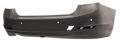 Replacement Car Parts for Bmw 3 series Saloon rear bumper primed with pdc