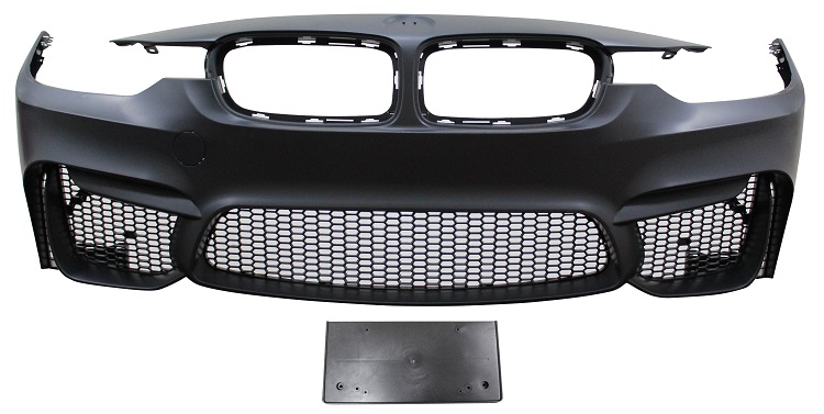 Replacement Car Parts for Bmw 3 series Front bumper m3 style with grilles