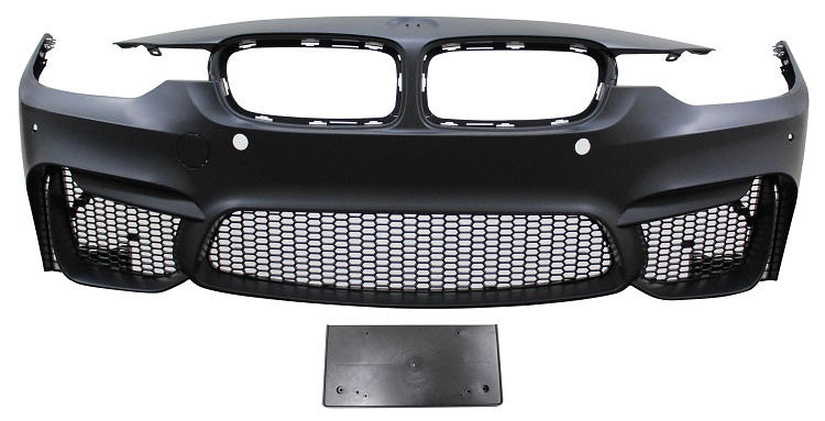 Replacement Car Parts for Bmw 3 series Front bumper m3 style with pdc with grilles
