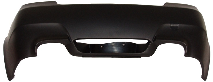 Rear Bumper M5 Style Twin Exhaust Exit Twin Tail Pipes for BMW 5 SERIES