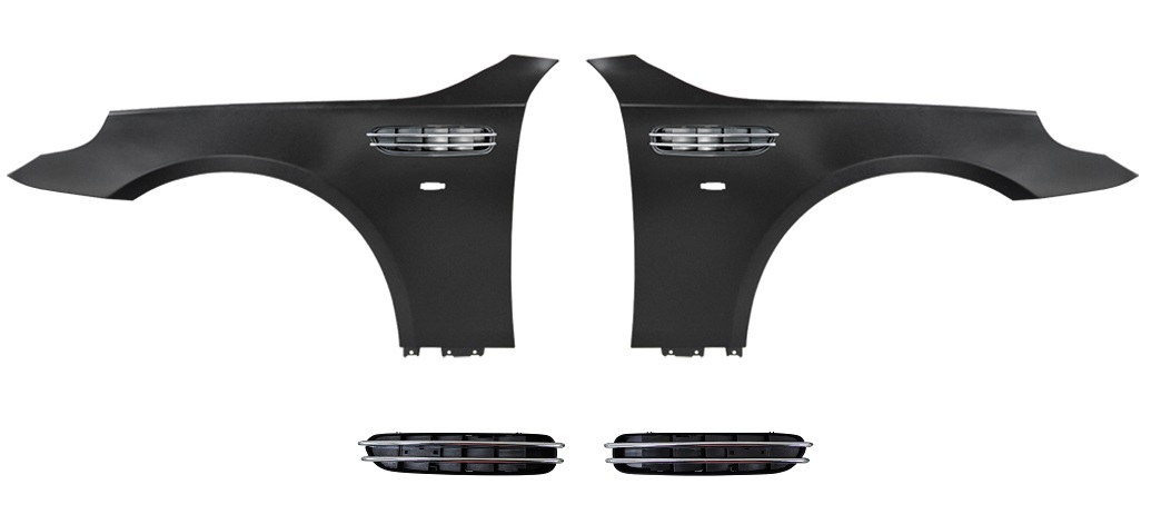 Front Wing Set M5 Style With Side Vent for BMW 5 SERIES