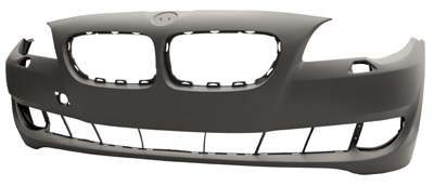 Front Bumper Primed With Headlight Wash Not M Sport or M5 Independently Certifie for BMW 5 SERIES