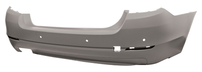 Rear Bumper Primed With PDC Single Exhaust Not M Sport or M5 Models