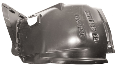 Replacement Car Parts for Bmw 1 series Front splashguard front section left hand 5 door