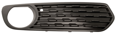 Replacement Car Parts for Bmw 1 series Front bumper grille with hole closed type right hand