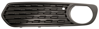 Replacement Car Parts for Bmw 1 series Front bumper grille with hole closed left hand