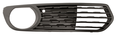 Replacement Car Parts for Bmw 1 series Front bumper grille with hole open type right hand
