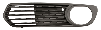 Replacement Car Parts for Bmw 1 series Front bumper grille with hole open type left hand