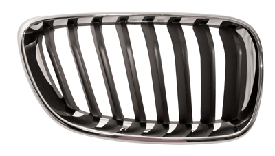 Replacement Car Parts for Bmw 2 series Front grille chrome with black slats right hand