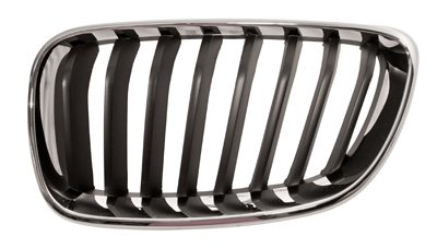 Replacement Car Parts for Bmw 2 series Front grille chrome with black slats left hand
