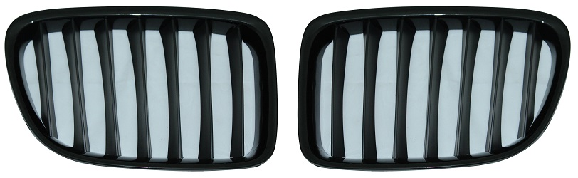 Replacement Car Parts for Bmw X1 Front grille set gloss black