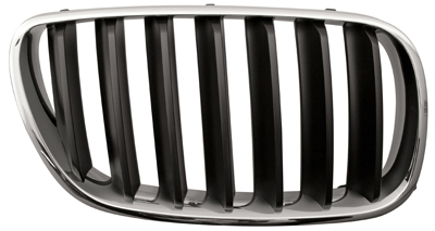 Front Grille Chrome Surroung Black Slats Right Hand for BMW X3