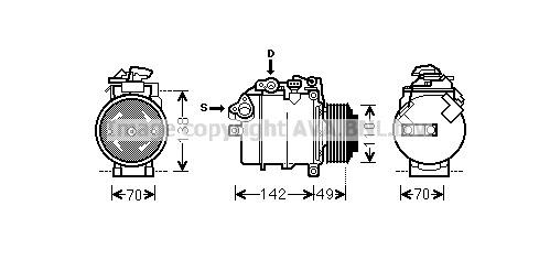 Replacement Car Parts for Bmw X1 Compressor sdrive 16 d