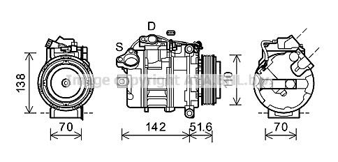 Replacement Car Parts for Bmw 1 series Compressor 125 i