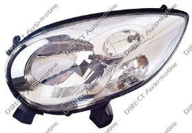 Headlight Elec Left Hand With Motor OEM/OES for CITROEN C1