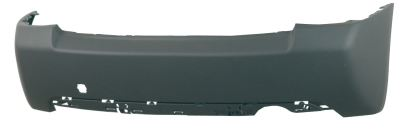 Rear Bumper Black Independently Certified for CITROEN C2