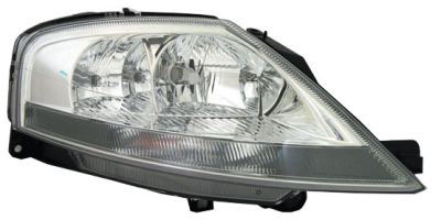 Headlight Right Hand W/built In Motor for CITROEN C3