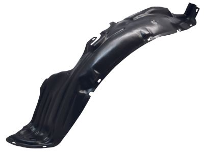Replacement Car Parts for Nissan Micra Front wing splashguard left hand