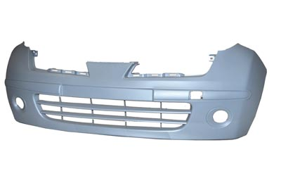 Replacement Car Parts for Nissan Micra Front bumper primed w/fog hole not acenta/tekna/n-tec models