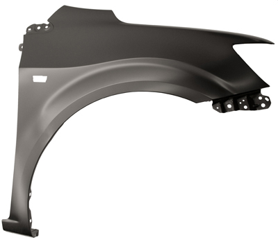 Replacement Car Parts for Chevrolet Aveo Front wing with hole right hand