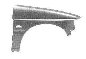 Replacement Car Parts for Ford Escort Front wing with hole right hand