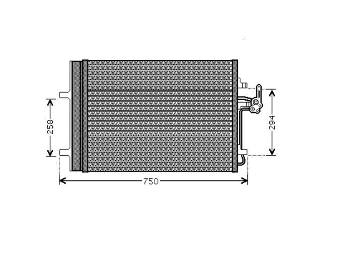 Condensor 2.0 TDCi