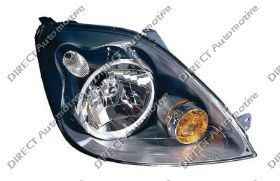 Headlight With Bulb cover Right Hand OEM/OES
