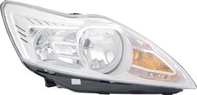 Headlight Chrome Right Hand Inc Motor