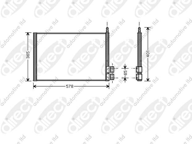 Condensor 1.8 Flexifuel