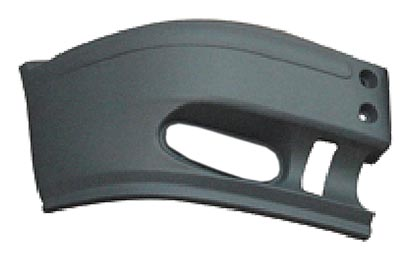 Front Bumper End Cap W/Spotlight Hole Right Hand No Brckt Independently Certified for FORD TRANSIT