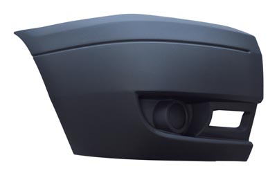 Front Bumper End Cap Light Grey Right Hand for FORD TRANSIT